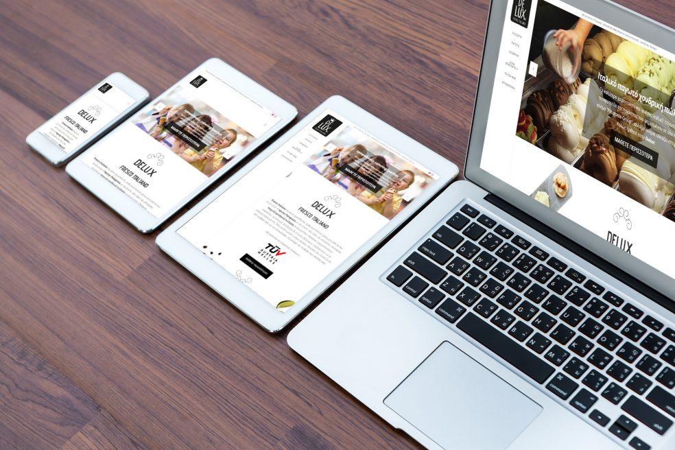 Καώς ήρθατε στο νέο website της Delux!